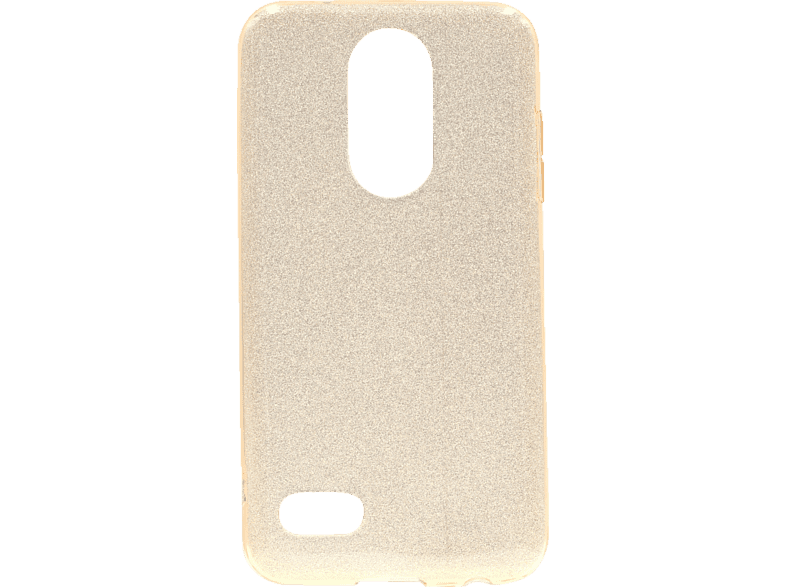 AGM AGM 27455 Glow Backcover LG K11 Polycarbonat, Thermoplastisches Polyurethan Gold