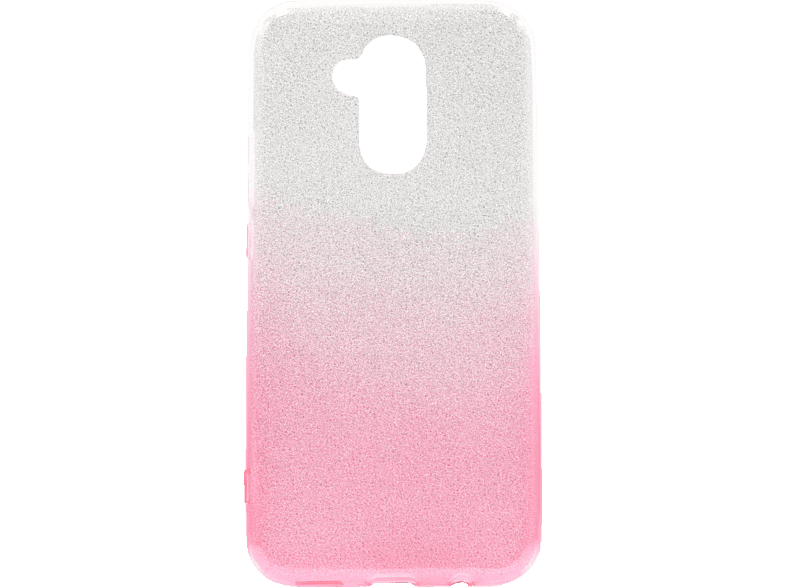 AGM AGM 27446 Slope , Backcover, Huawei, Mate 20 lite, Polycarbonat, Thermoplastisches Polyurethan, Silber, Pink