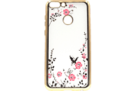 AGM Feeling , Backcover, Huawei, P Smart, Thermoplastisches Polyurethan/Kunststoff, Gold
