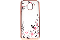 AGM Feeling , Backcover, Samsung , Galaxy J6 (2018), Thermoplastisches Polyurethan/Kunststoff, Rosegold
