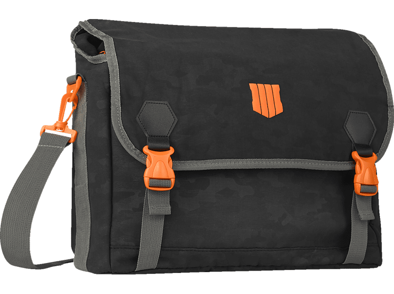 EXQUISITE GAMING Call of Duty: Black Ops 4 Messenger Bag Umhängetasche, Schwarz