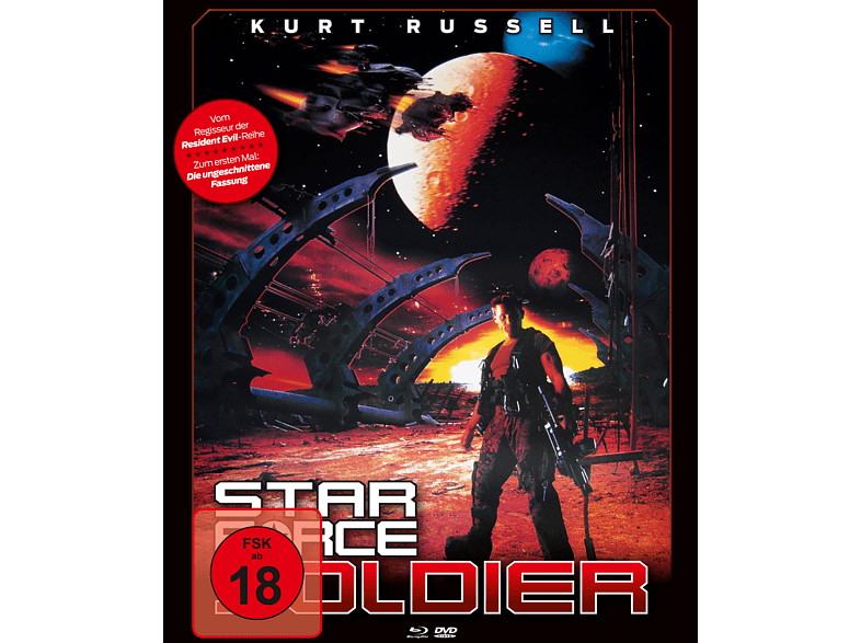 Star Force Soldier [Blu-ray + DVD]