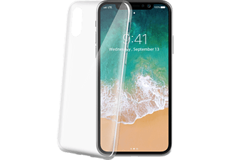 celly thin backcover f r apple iphone x xs transparent. Black Bedroom Furniture Sets. Home Design Ideas