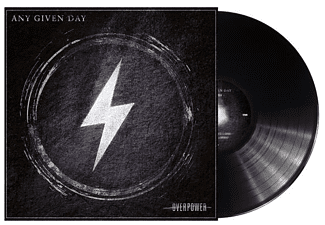 Any Given Day - Overpower - (Vinyl)