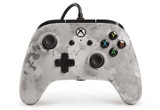 Mando - Sherwood Xbox One Enhanced Wired Controller Camo Snow, PowerA