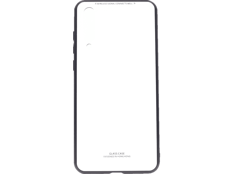 AGM AGM 27387 Glas Backcover Huawei P20 Pro Echtglas, Thermoplastisches Polyurethan Weiß | 04026436273876