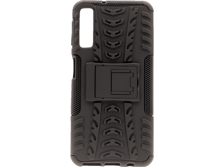 AGM AGM 27497 , Backcover, Samsung, Galaxy A7 (2018), Polycarbonat, Thermoplastisches Polyurethan, Schwarz
