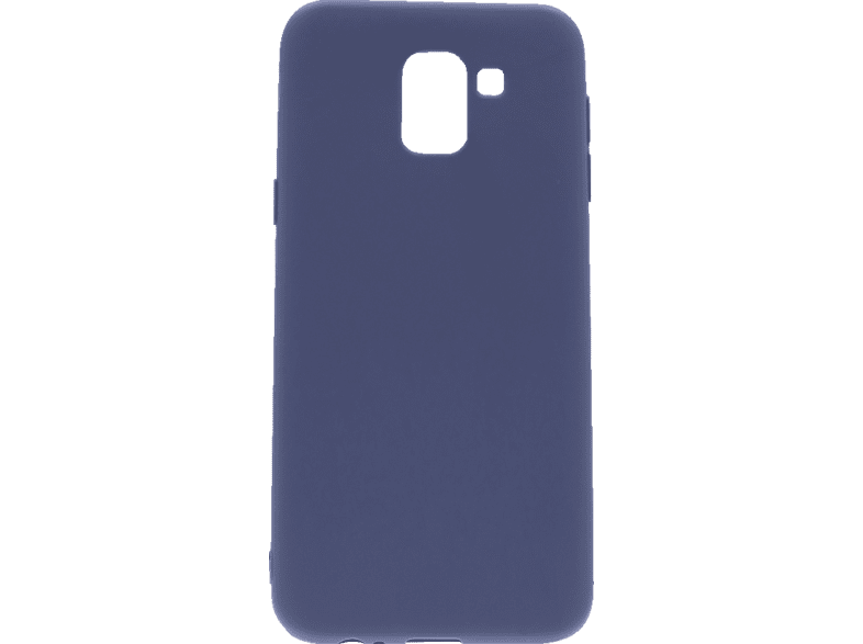 AGM 27479 , Backcover, Samsung, Galaxy J6 (2018), Thermoplastisches Polyurethan, Blau