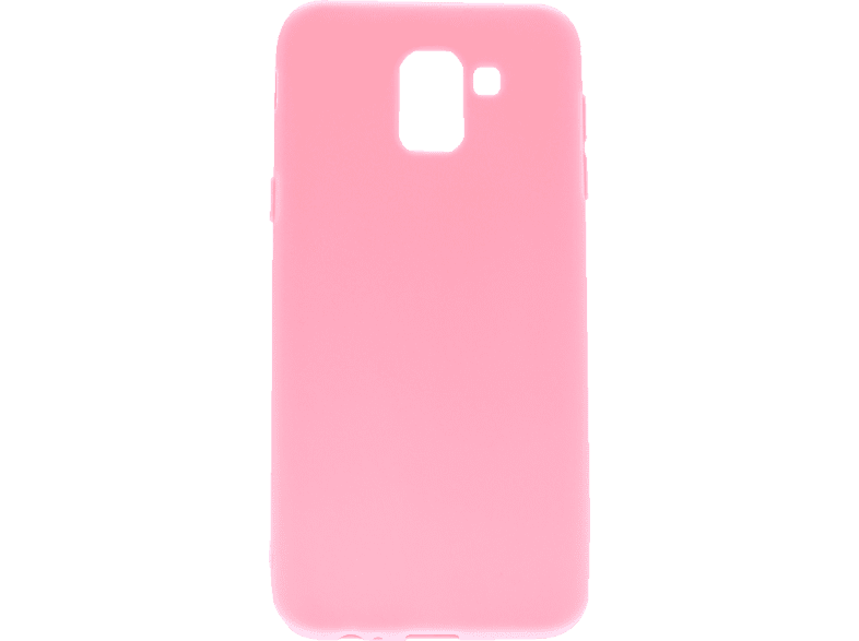 AGM 27481 , Backcover, Samsung, Galaxy J6 (2018), Thermoplastisches Polyurethan, Pink