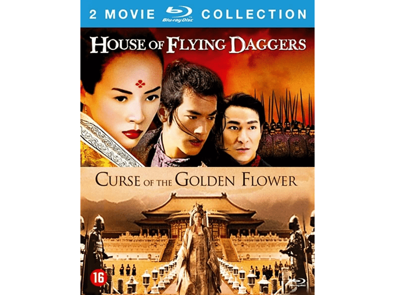 House Of The Flying Daggers + Curse Of The Golden Flower - Blu-ray