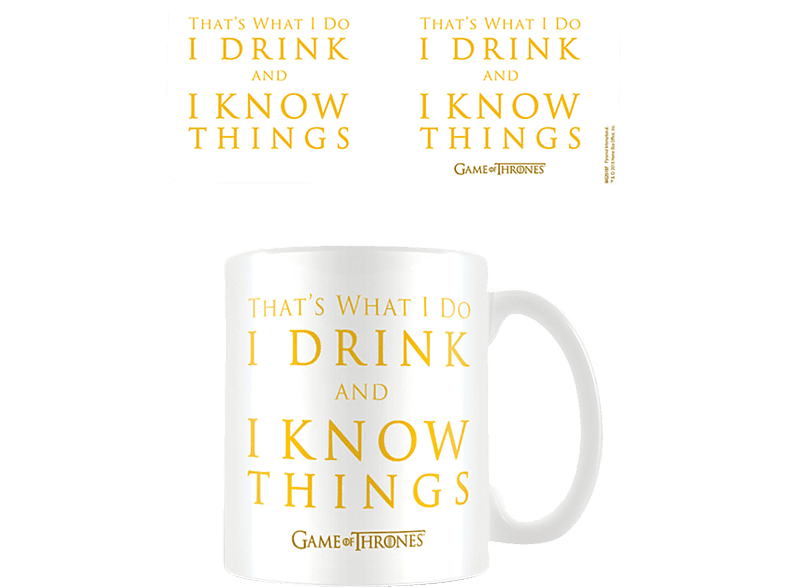 EMPIRE Game of Thrones - Drink Tasse Tasse, Mehrfarbig