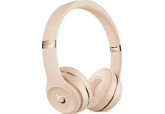 BEATS Solo3 Wireless - Bluetooth Kopfhörer (On-ear, Satin Gold)