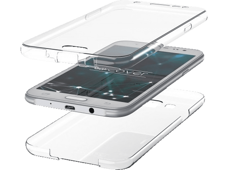 AGM 27399 , Full Cover, Samsung, Note 9, Thermoplastisches Polyurethan, Transparent