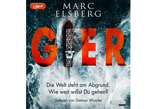 Gier - 2 MP3-CD - Krimi/Thriller