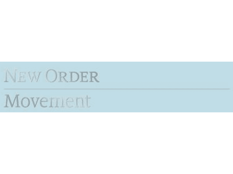 New Order - Movement (Definitive Edition) [LP + DVD + CD]