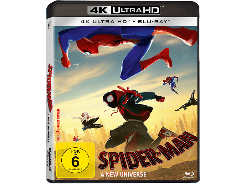 Spider-Man: A new Universe [4K Ultra HD Blu-ray + Blu-ray]