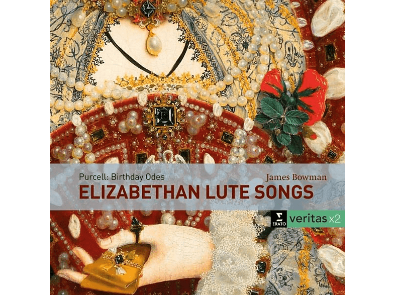 BOWMAN/MUNROW - Elizabethan lute songs/Purcell:Birthday Odes [CD]