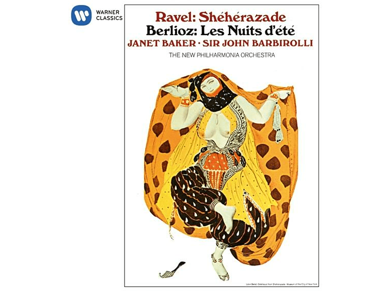 Janet Baker, New Philharmonia Orchestra - Sheherazade/Les Nuits d'ete [CD]
