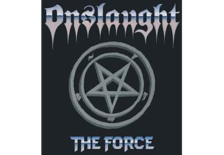 Onslaught - The Force (Translucent Blue Vinyl+Poster) - (Vinyl)
