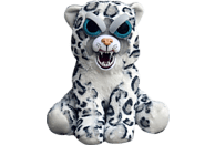 WILLIAM MARK Feisty Pets Snow Leopard Plüschfigur, Weiß