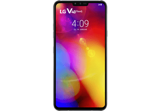 LG V40 ThinQ 128 GB Platinum Gray Dual SIM