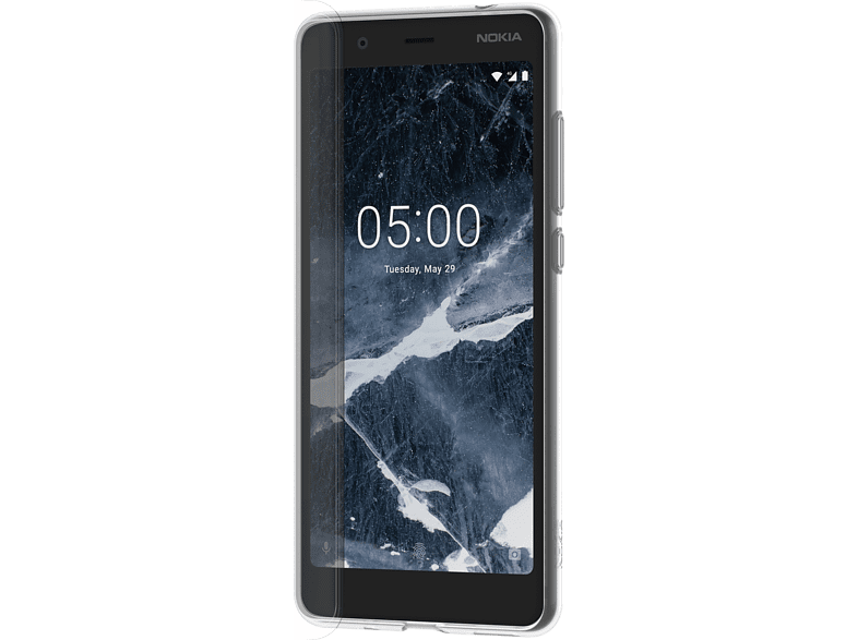 NOKIA CC 109 Backcover Nokia 5.1 Thermoplastisches Polyurethan Transparent