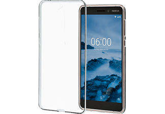 NOKIA CC 110 Backcover Nokia 6.1 Thermoplastisches Polyurethan Transparent