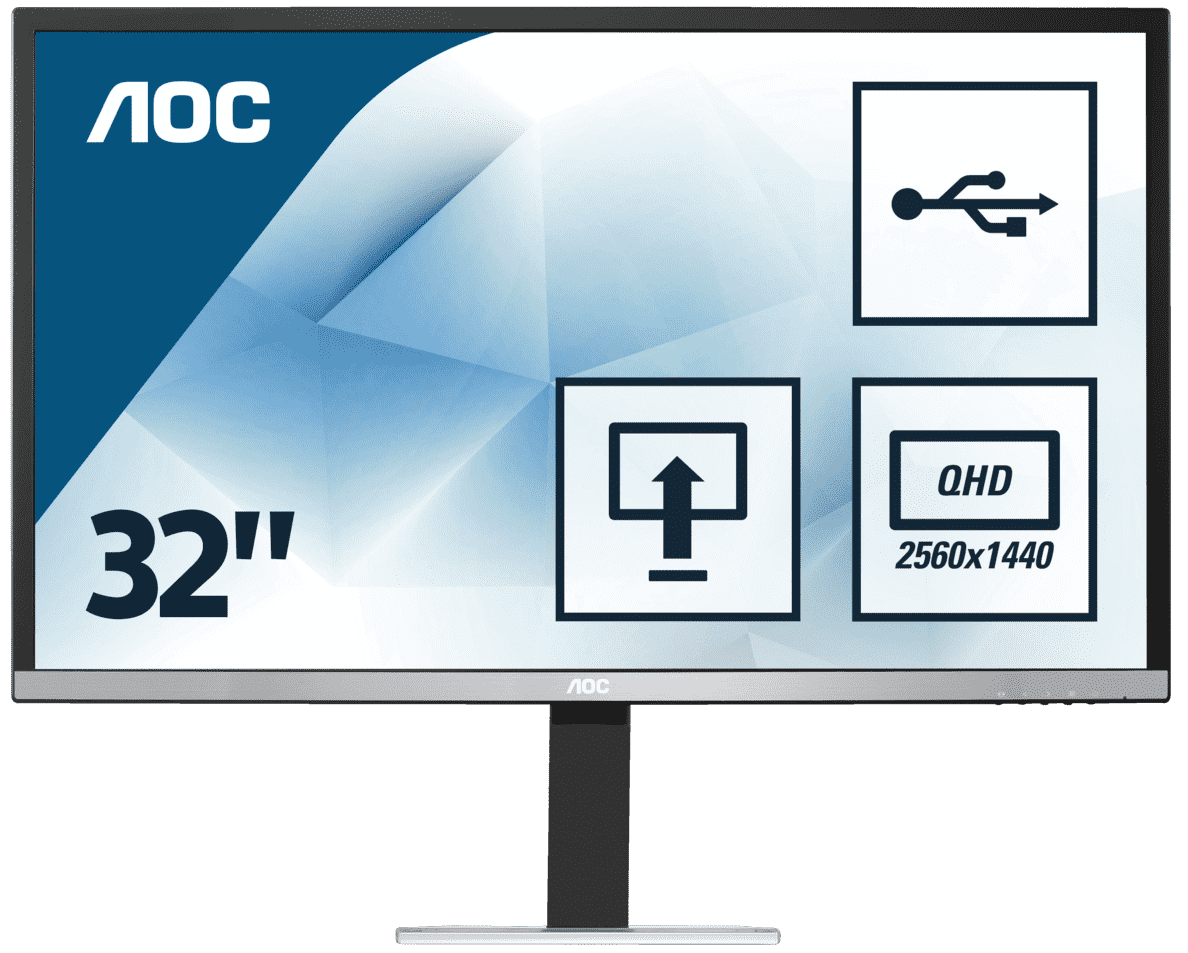 AOC  Q3277PQU Office Monitor | 04038986115438