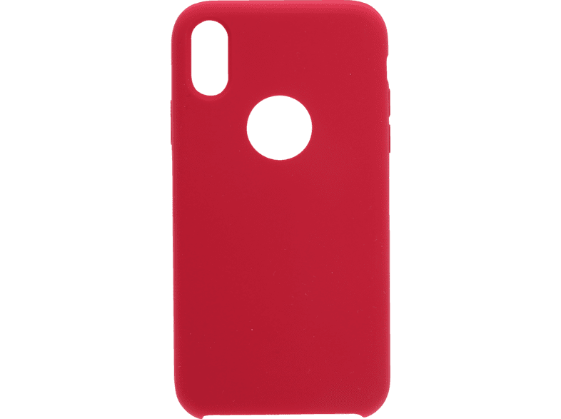 V-DESIGN PSC 025 , Backcover, Apple, iPhone XR, Thermoplastisches Polyurethan, Rot