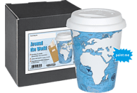 KÖNITZ 1151622295 Around the world Self made mug to go Kaffeebecher