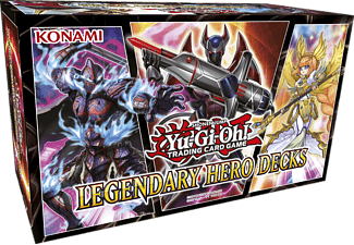 KONAMI DIGITAL ENTERTAINM. Yu-Gi-Oh! Legendary Hero Decks Kartenspiel, Mehrfarbig