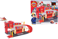 DICKIE TOYS Sam Fire Rescue Centre Spielset, Mehrfarbig