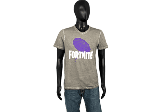 MUSTERBRAND Fortnite Umbrella L T-Shirt, Grau