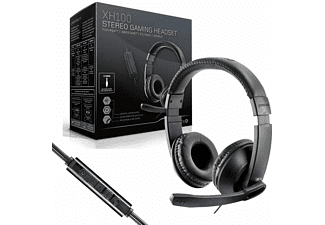 Auriculares Gaming - Gioteck XH-100 Estéreo, Para PS4, Xbox One, PC, Mac, Negro