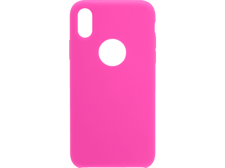 V-DESIGN  PSC 031 Backcover Apple iPhone XS, iPhone X Thermoplastisches Polyurethan Pink | 04056212045922