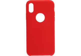 V-DESIGN PSC 029 Handyhülle, hell rot, passend für Apple iPhone XS, iPhone X