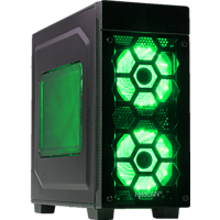 HYRICAN STRIKER 6110, Gaming-PC mit Core™ i7 Prozessor, 16 GB RAM, 240 GB SSD, 1 TB HDD, Geforce® RTX 2070, 8 GB