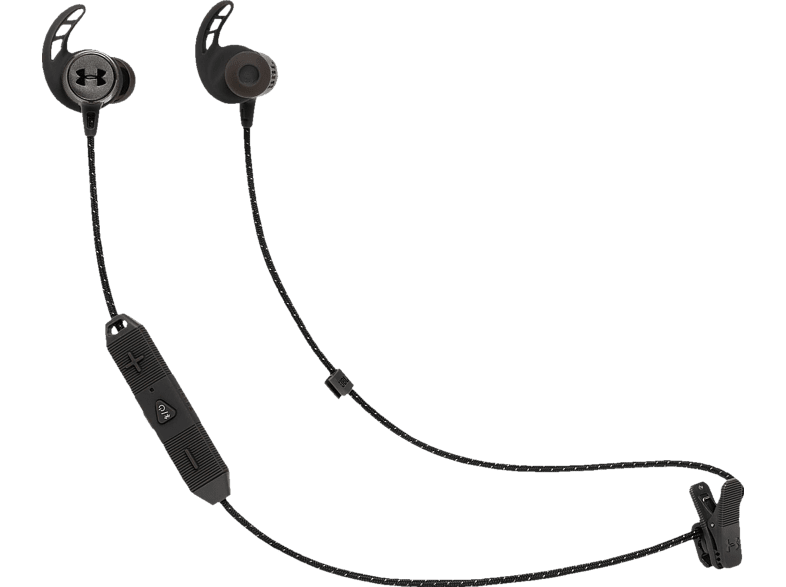JBL Under Armour React, In-ear Kopfhörer Bluetooth Schwarz