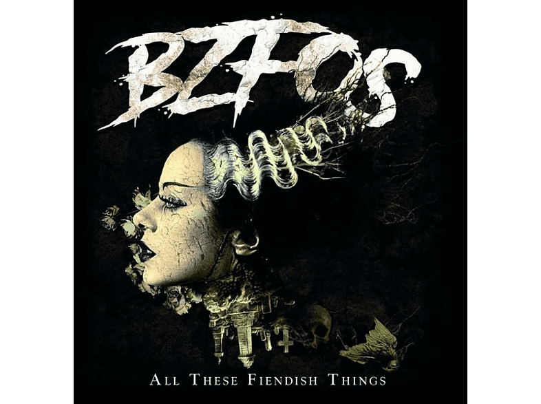 Bloodsucking Zombies From Outer Space - All These Fiendish Things [CD]