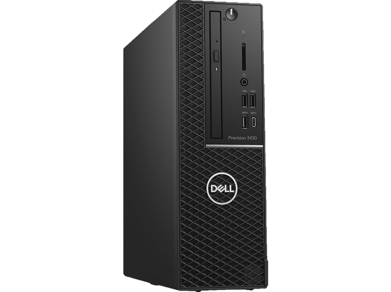 DELL Precision 3430, Desktop PC, Core™ i7 Prozessor, 16 GB RAM, 512 GB SSD, Intel® UHD-Grafik 630, Schwarz