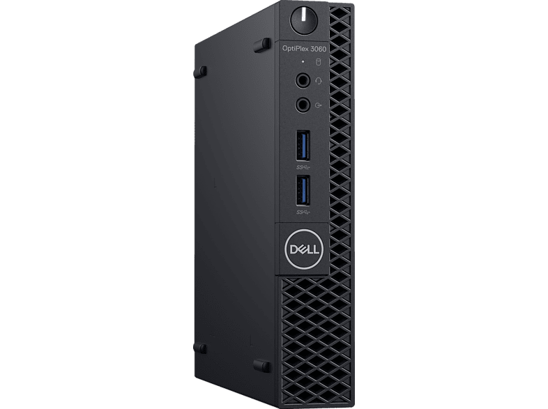 DELL OptiPlex 3060, Mini-PC, Core™ i5 Prozessor, 8 GB RAM, 1 TB HDD, Intel® UHD-Grafik 630, Schwarz