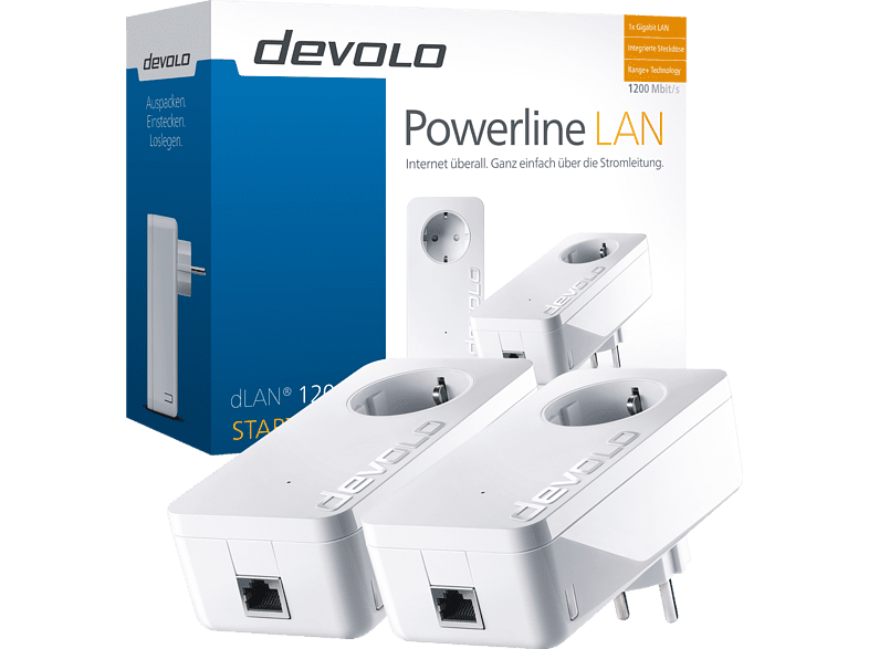 DEVOLO 9376 dLAN 1200+ Starter Kit