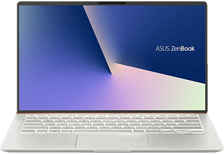 ASUS ASUS ZenBook 14 (UX433FA-A5453T), Notebook mit 14 Zoll Display, Core i5 Prozessor, 8 GB RAM, 512 GB SSD, Intel UHD Grafik 620, Icicle Silver