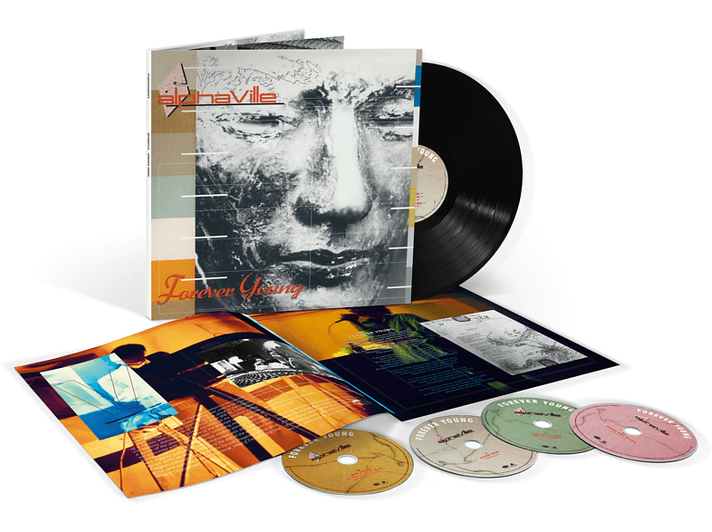 Alphaville - FOREVER YOUNG (SUPER DELUXE) [LP + DVD + CD]