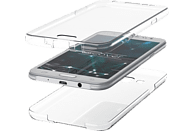 AGM 27404 , Full Cover, Samsung, A7 (2018), Thermoplastisches Polyurethan, Transparent