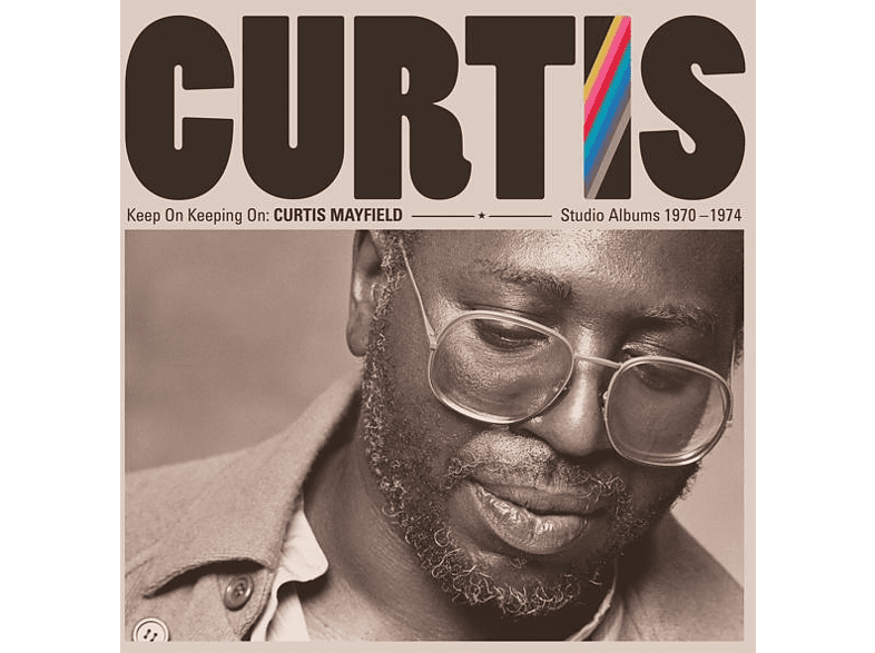 Curtis Mayfield - Keep On Keepin' On:Curtis Mayfield Studio Albums [Vinyl]