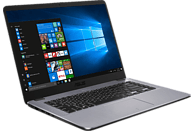 ASUS F505ZA-EJ463T, Notebook mit 15.6 Zoll Display, Dual Core R3 Prozessor, 8 GB RAM, 256 GB SSD, AMD Radeon™ Vega 3 Grafik, Matt Dark Grey
