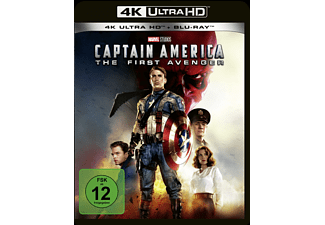 Captain America: The First Avenger - (4K Ultra HD Blu-ray + Blu-ray)