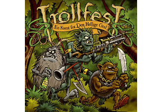 Trollfest - En Kvest For De Hellige Gral - (CD)