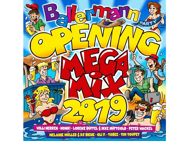 VARIOUS - Ballermann Opening Megamix 2019 [CD]